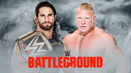 WWE Battleground 2015 - Seth Rollins vs. Brock Lesnar