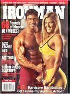 Ironman Magazine - April 2001