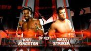 Kofi Kingston vs. Matt Striker