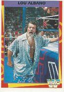 1995 WWF Wrestling Trading Cards (Merlin) Lou Albano 38