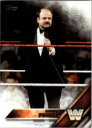 2016 WWE (Topps) Then, Now, Forever Howard Finkel 173