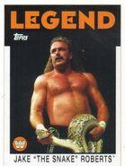 2016 WWE Heritage Wrestling Cards (Topps) Jake Roberts 85