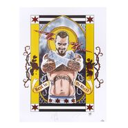 CM Punk Second City Saint Signed Lithograph