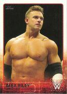 2015 WWE (Topps) Alex Riley 3