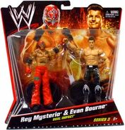 WWE Battle Packs 3 Rey Mysterio & Evan Bourne