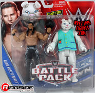 Adam Rose & Bunny - WWE Battle Packs 38