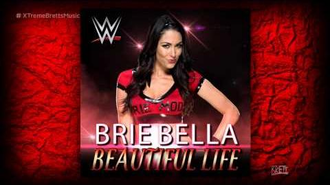 "WWE ""Beautiful Life"" iTunes Release by CFO$ ► Brie Bella NEW Theme Song"