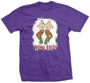 Young Bucks Young Bucks Retro Purp Shirt