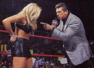 RAW 3-5-01 Vince and Trish