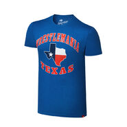 WrestleMania 32 Texas Blue T-Shirt