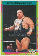 1995 WWF Wrestling Trading Cards (Merlin) King Kong Bundy 62