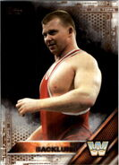 2016 WWE (Topps) Then, Now, Forever Bob Backlund 155