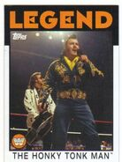 2016 WWE Heritage Wrestling Cards (Topps) The Honky Tonk Man 83