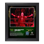 Baron Corbin Money In The Bank 2016 15 x 17 Framed Photo w Ring Canvas