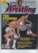 Inside Wrestling - April 1991
