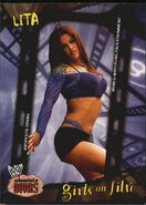 2002 WWE Absolute Divas (Fleer) Lita 94