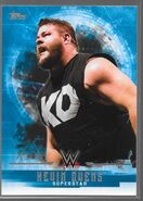 2017 WWE Undisputed Wrestling Cards (Topps) Kevin Owens 20