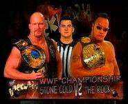 Backlash 1999 (stone cold vs the rock)