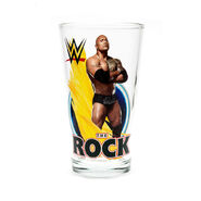 The Rock Toon Tumbler Pint Glass