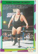 1995 WWF Wrestling Trading Cards (Merlin) King Kong Bundy 104