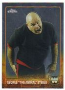 2015 Chrome WWE Wrestling Cards (Topps) George Steele 81