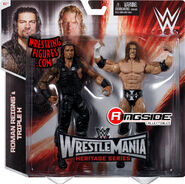 Roman Reigns & Triple H (WWE Elite WrestleMania 31)