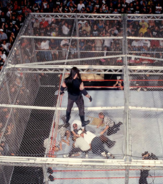 Mankind vs The Undertaker Hell in a Cell Match King of the Ring 1998 22