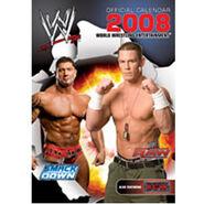 WWE Calendar, World Wrestling Calendar 2008 official calendar