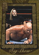 2002 WWF All Access (Fleer) Big Show 83