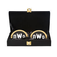 NWo WWE World Heavyweight Championship Replica Title Side Plate Box Set