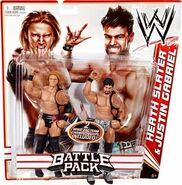 WWE Battle Packs 14 Heath Slater & Justin Gabriel