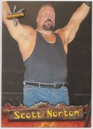 1999 WCW Embossed (Topps) Scott Norton 28