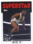 2016 WWE Heritage Wrestling Cards (Topps) Big E 3