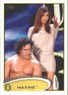 2012 WWE (Topps) Maxine 17