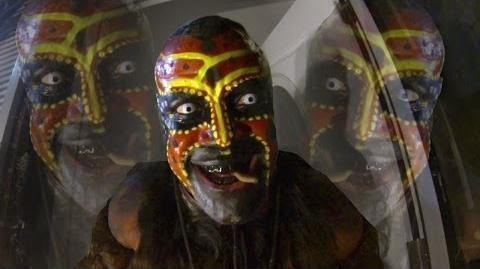 "The Boogeyman terrifies trick-or-treaters - ""I'm comin' to getcha!"""
