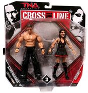 TNA Cross the Line 3 Dr. Stevie Richards & Daffney