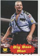 2012 WWE Heritage Trading Cards Big Boss Man 61