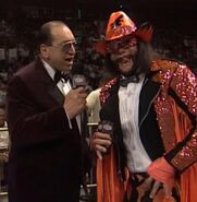 Gorilla Monsoon & Randy Savage