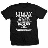 Crazy Mary Dobson Demon Angel Shirt