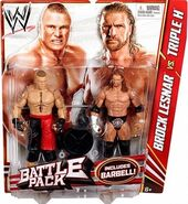 WWE Battle Packs 20 Brock Lesnar & Triple H