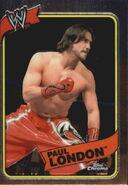 2008 WWE Heritage III Chrome Trading Cards Paul London 50