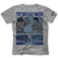Randy Savage Savage-Steamboat The Match T-Shirt