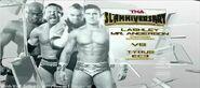 TNA Slammiversary XIII Lashley Anderson vs EC3 Tyrus