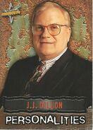 1999 WCW Embossed (Topps) JJ Dillon 48