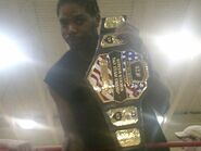 Horace White as N.E.W. Tag Team Champ