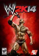 WWE 2K14 poster