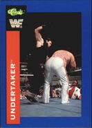 1991 WWF Classic Superstars Cards Undertaker 106