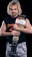 Spike Dudley as european champiion