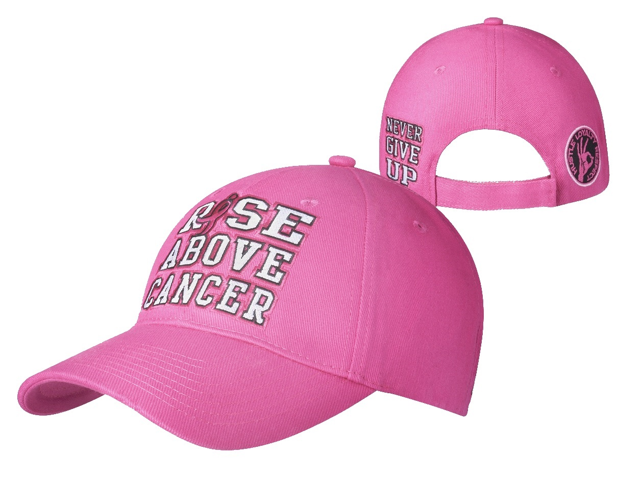 John Cena Quot Rise Above Cancer Quot Baseball Hat Pro Wrestling