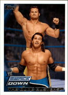2010 WWE (Topps) The Dude Busters (No.75)